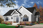 Arts & Crafts House Plan Front Photo 01 - 032D-0655 | House Plans and More