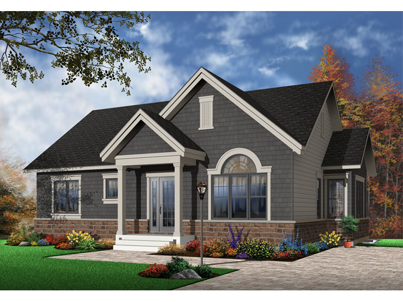 Arts & Crafts House Plan Front Photo 02 - 032D-0655 | House Plans and More