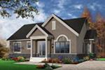 Arts & Crafts House Plan Front Photo 03 - 032D-0655 | House Plans and More