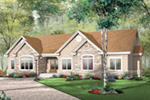 Traditional House Plan Front Image - 032D-0659 | House Plans and More