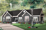 Traditional House Plan Front Photo 03 - 032D-0659 | House Plans and More