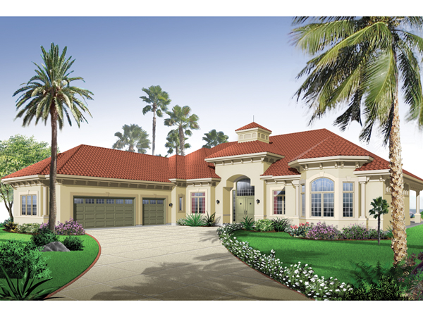 San jacinto florida style home plan 032d 0666 house Florida style home plans