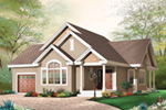 Arts & Crafts House Plan Front Image - 032D-0667 | House Plans and More