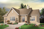 Ranch House Plan Front Photo 01 - 032D-0669 | House Plans and More