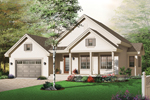 Traditional House Plan Front Photo 01 - 032D-0671 | House Plans and More