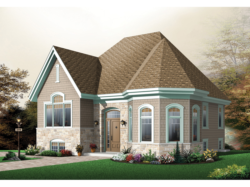 Huntleigh downs european home plan 032d 0672 house plans for European homes