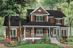 Traditional House Plan Front Photo 03 - 032D-0682 | House Plans and More