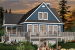 Rustic Home Plan Front Photo 01 - 032D-0686 | House Plans and More