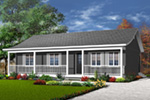Ranch House Plan Front Photo 01 - 032D-0688 | House Plans and More
