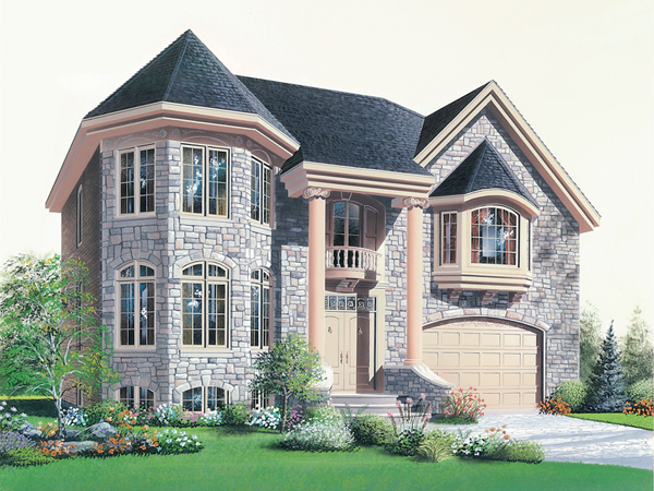 Apria victorian home plan 032d 0695 house plans and more - Houses with bay windows ...