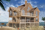 This Enchanting Coastal Home Offers All The Amenities Of Outdoor Living