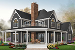 Plantation House Plan Front Photo 01 - 032D-0702 | House Plans and More