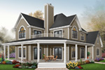 Plantation House Plan Front Photo 02 - 032D-0702 | House Plans and More