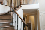 Traditional House Plan Stairs Photo - 032D-0703 | House Plans and More
