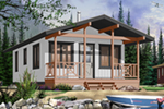 Cottage With Craftsman Style Details