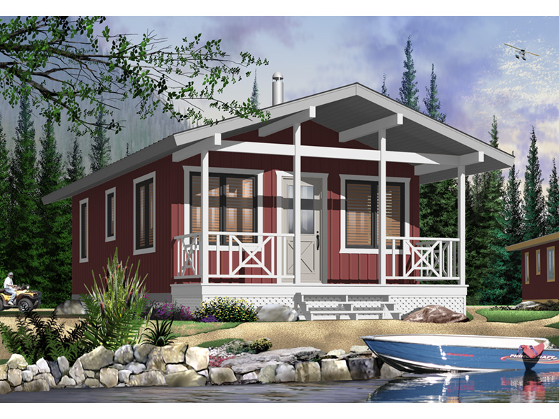 Vacation House Plan Front Photo 02 - 032D-0710 | House Plans and More