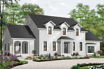 Greek Revival Home Plan Front of Home - 032D-0711 | House Plans and More