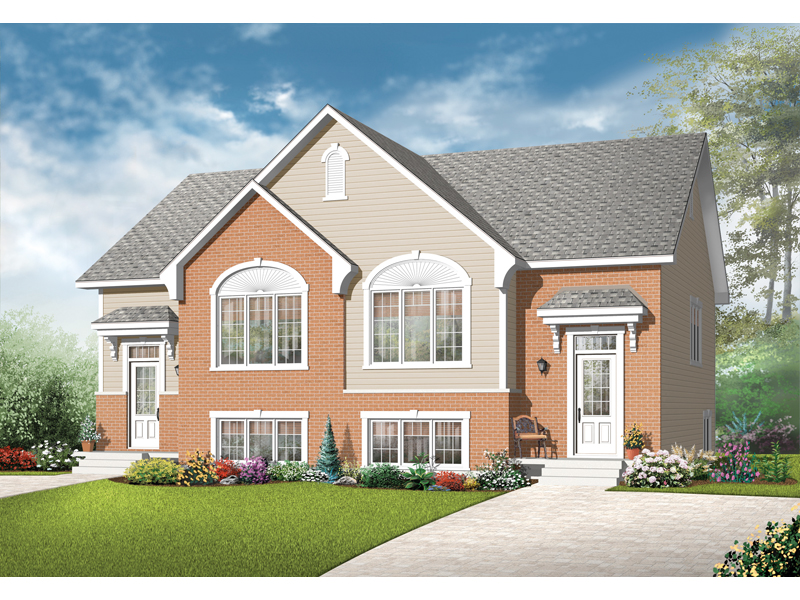 Multi-Family House Plan Front of Home - 032D-0717 | House Plans and More
