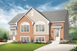 Early American House Plan Front of Home - 032D-0717 | House Plans and More