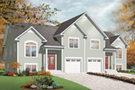 Ranch House Plan Front of Home - 032D-0720 | House Plans and More