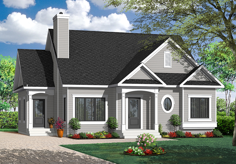 Larbrook early american home plan 032d 0722 house plans Early american home plans