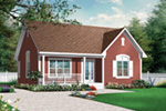 Craftsman House Plan Front Image - 032D-0726 | House Plans and More