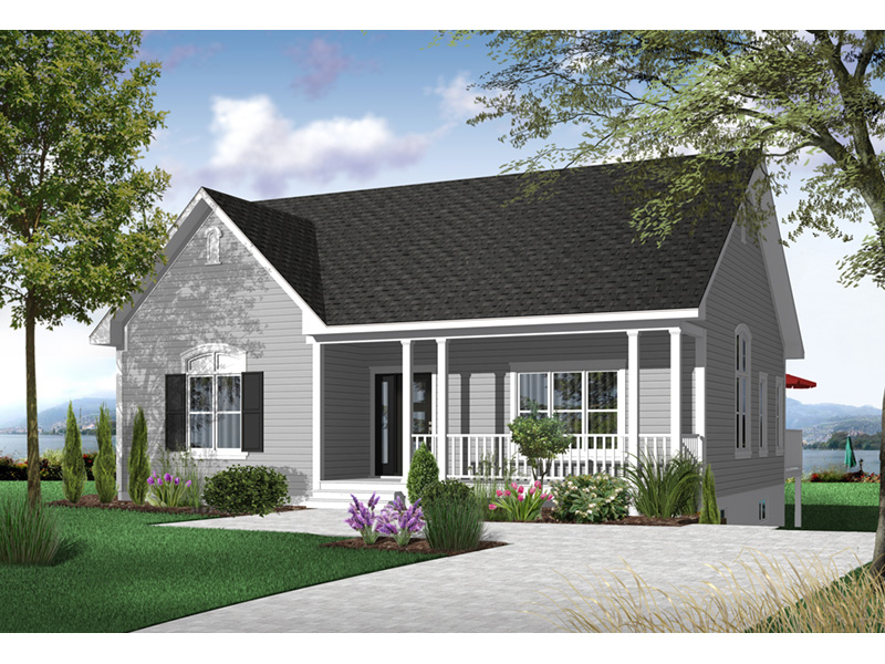 Arts & Crafts House Plan Front Photo 01 - 032D-0726 | House Plans and More