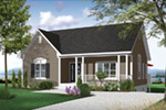 Craftsman House Plan Front Photo 02 - 032D-0726 | House Plans and More