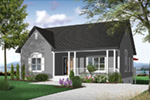Craftsman House Plan Front Photo 03 - 032D-0726 | House Plans and More