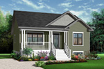 Ranch House Plan Front Photo 01 - 032D-0727 | House Plans and More