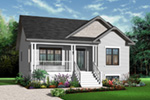 Ranch House Plan Front Photo 03 - 032D-0727 | House Plans and More
