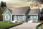 Craftsman House Plan Front Image - 032D-0728 | House Plans and More