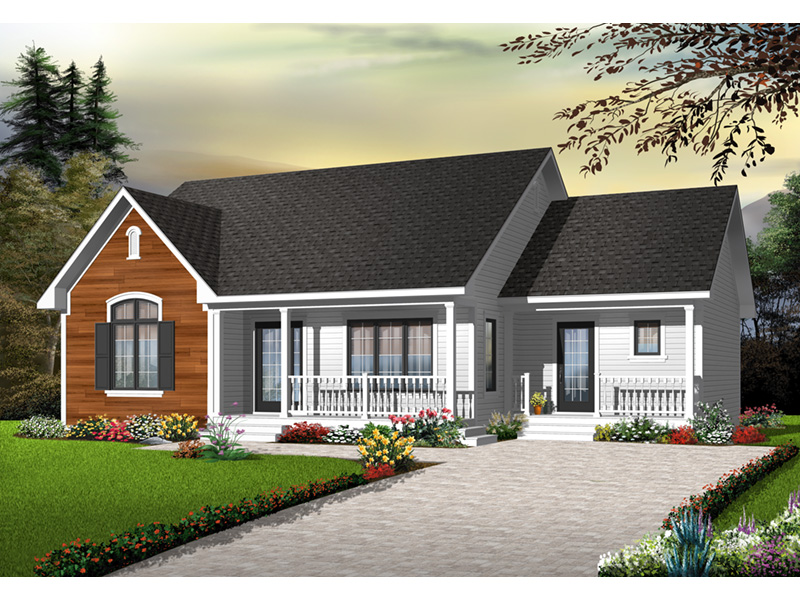 Craftsman House Plan Front Photo 01 - 032D-0728 | House Plans and More