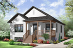 Arts & Crafts House Plan Front Photo 01 - 032D-0730 | House Plans and More