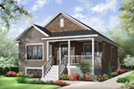 Arts & Crafts House Plan Front Photo 03 - 032D-0730 | House Plans and More
