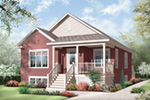 Arts & Crafts House Plan Front Photo 04 - 032D-0730 | House Plans and More