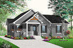 Bungalow House Plan Front Photo 01 - 032D-0732 | House Plans and More