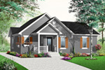 Bungalow House Plan Front Photo 02 - 032D-0732 | House Plans and More