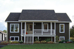 Ranch House Plan Front of Home - 032D-0733 | House Plans and More