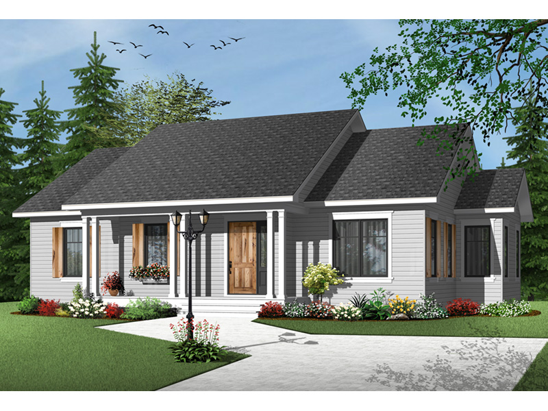 Arts & Crafts House Plan Front Photo 01 - 032D-0733 | House Plans and More