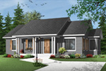 Arts & Crafts House Plan Front Photo 02 - 032D-0733 | House Plans and More