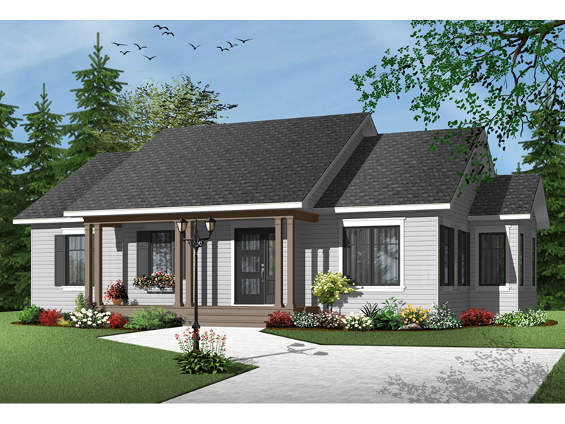 Arts & Crafts House Plan Front Photo 03 - 032D-0733 | House Plans and More