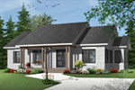 Craftsman House Plan Front Photo 03 - 032D-0733 | House Plans and More