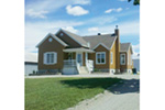 Early American House Plan Front Photo of House - 032D-0734 | House Plans and More