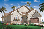 Mediterranean House Plan Front of Home - 032D-0738 | House Plans and More