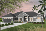 Traditional House Plan Front of Home - 032D-0741 | House Plans and More