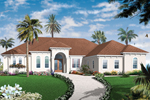Traditional House Plan Front of Home - 032D-0742 | House Plans and More