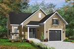 Bungalow House Plan Front of Home - 032D-0748 | House Plans and More