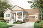 Country House Plan Front Image - 032D-0749 | House Plans and More