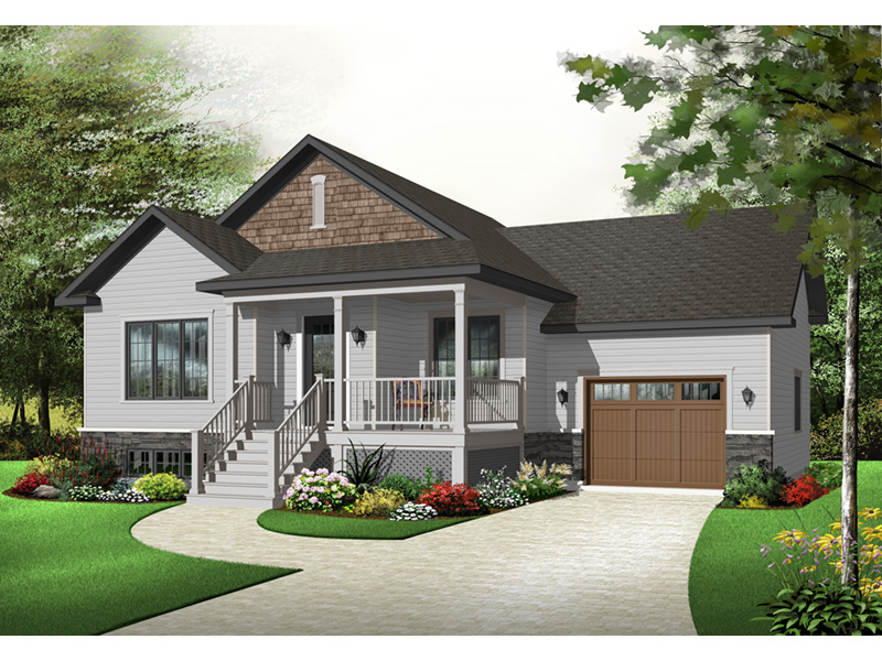 Country House Plan Front Photo 01 - 032D-0749 | House Plans and More
